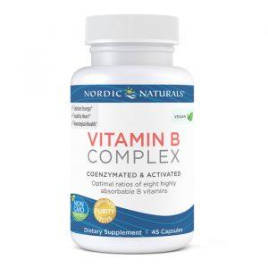 Nordic Naturals vitamin B complex 45 kap