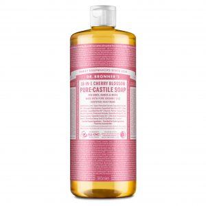 Dr Bronner cherry blossom såpe 945 ml
