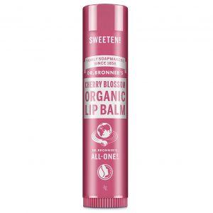 Dr Bronner cherry blossom lip balm