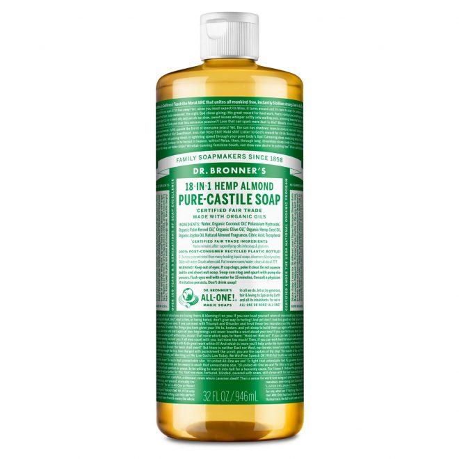Dr Bronner mandel såpe 945 ml