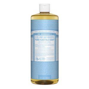 Dr Bronner baby mild såpe 945 ml