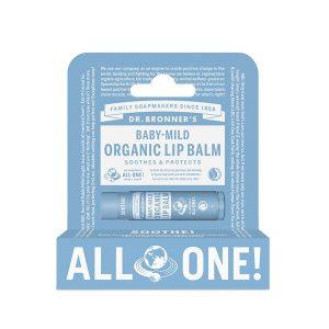 Dr Bronner baby mild lip balm