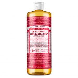 Dr Bronner rose såpe 945 ml
