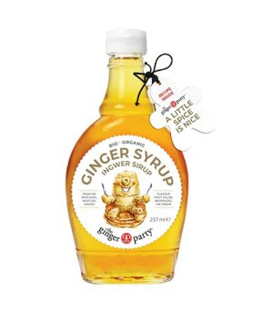 The Ginger People ginger syrup 237 ml