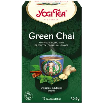 Yogi Tea green chai 17 poser