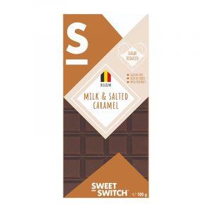 Sweet Switch sjokolade m/salt karamell 100g glutenfri