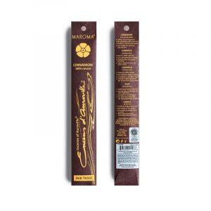 Maroma røkelse cinnamon 10 pinner