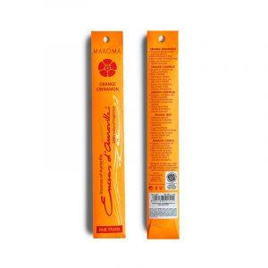 Maroma røkelse orange cinnamon 10 pinner