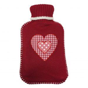 Varmeflaske hjertetrekk 2 L