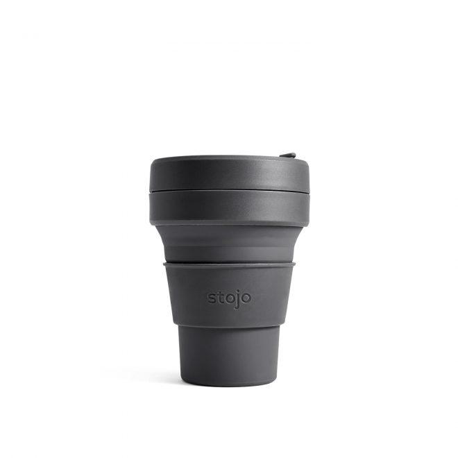 Stojo sammenleggbar pocket kopp carbon 355 ml