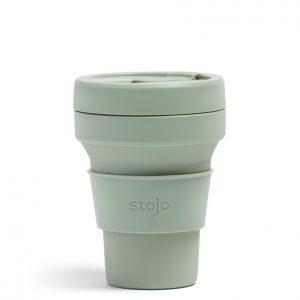 Stojo sammenleggbar pocket kopp sage 355 ml